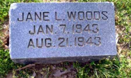 WOODS, JANE L - Greene County, Arkansas | JANE L WOODS - Arkansas Gravestone Photos