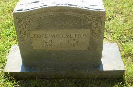 WOOLVERTON, JENNIE - Greene County, Arkansas | JENNIE WOOLVERTON - Arkansas Gravestone Photos