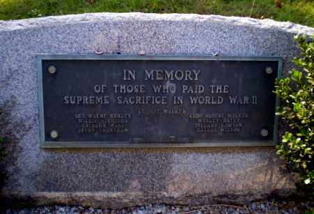 **WORLD WAR II MEMORIAL,  - Greene County, Arkansas |  **WORLD WAR II MEMORIAL - Arkansas Gravestone Photos
