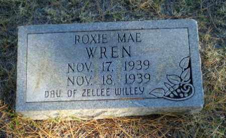 WREN, ROXIE MAE - Greene County, Arkansas | ROXIE MAE WREN - Arkansas Gravestone Photos