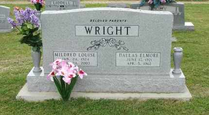 GUNN WRIGHT, MILDRED LOUISE - Greene County, Arkansas | MILDRED LOUISE GUNN WRIGHT - Arkansas Gravestone Photos