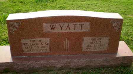 WYATT, MAUD - Greene County, Arkansas | MAUD WYATT - Arkansas Gravestone Photos