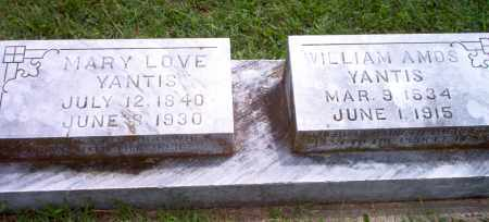 YANTIS, WILLIAM AMOS - Greene County, Arkansas | WILLIAM AMOS YANTIS - Arkansas Gravestone Photos