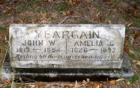 YEARGAIN, JOHN W - Greene County, Arkansas | JOHN W YEARGAIN - Arkansas Gravestone Photos