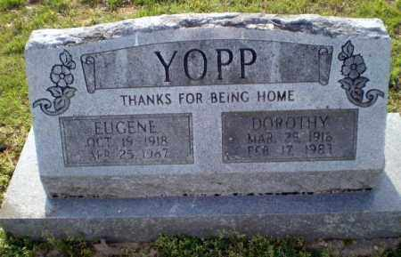 YOPP, EUGENE - Greene County, Arkansas | EUGENE YOPP - Arkansas Gravestone Photos