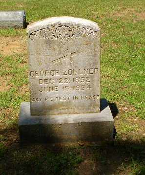 ZOLLNER, GEORGE - Greene County, Arkansas | GEORGE ZOLLNER - Arkansas Gravestone Photos