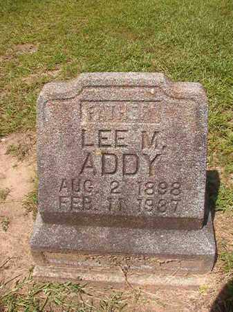 ADDY, LEE M - Hempstead County, Arkansas | LEE M ADDY - Arkansas Gravestone Photos