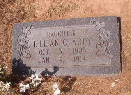 ADDY, LILLIAN G - Hempstead County, Arkansas   LILLIAN G ADDY - Arkansas Gravestone Photos