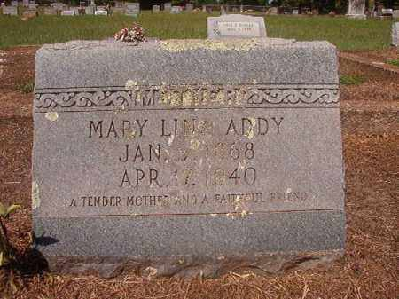 ADDY, MARY LINA - Hempstead County, Arkansas | MARY LINA ADDY - Arkansas Gravestone Photos