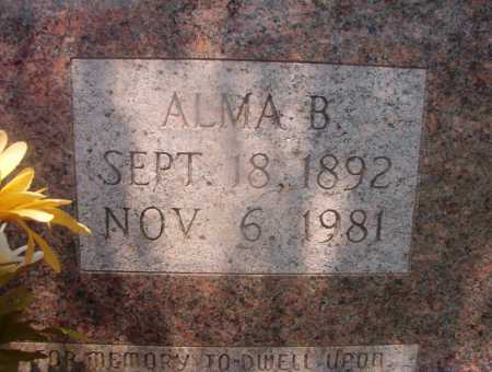 ALLEN, ALMA B (CLOSEUP) - Hempstead County, Arkansas | ALMA B (CLOSEUP) ALLEN - Arkansas Gravestone Photos