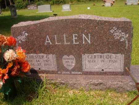 ALLEN, CHESTER G - Hempstead County, Arkansas | CHESTER G ALLEN - Arkansas Gravestone Photos