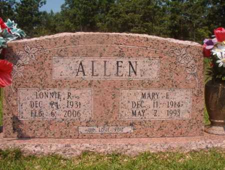 ALLEN, LONNIE R - Hempstead County, Arkansas | LONNIE R ALLEN - Arkansas Gravestone Photos