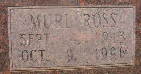 ROSS ALLEN, MURL (CLOSEUP) - Hempstead County, Arkansas | MURL (CLOSEUP) ROSS ALLEN - Arkansas Gravestone Photos