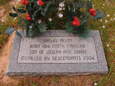 ALLEN, SAMUEL - Hempstead County, Arkansas | SAMUEL ALLEN - Arkansas Gravestone Photos