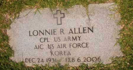 ALLEN (VETERAN KOR), LONNIE R - Hempstead County, Arkansas | LONNIE R ALLEN (VETERAN KOR) - Arkansas Gravestone Photos