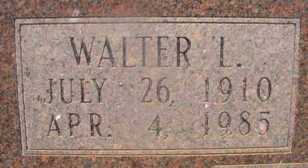 ALLEN, WALTER L (CLOSEUP) - Hempstead County, Arkansas | WALTER L (CLOSEUP) ALLEN - Arkansas Gravestone Photos