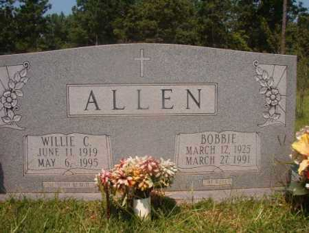 ALLEN, WILLIE C - Hempstead County, Arkansas | WILLIE C ALLEN - Arkansas Gravestone Photos