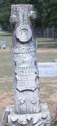 ANDERSON, JAMES R - Hempstead County, Arkansas | JAMES R ANDERSON - Arkansas Gravestone Photos