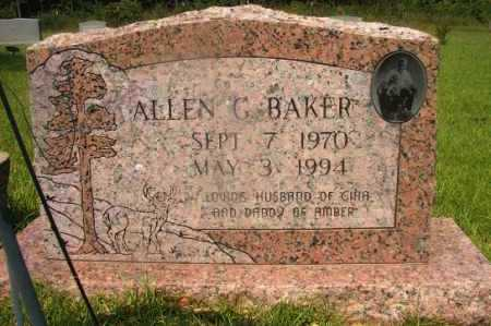 BAKER, ALLEN G - Hempstead County, Arkansas | ALLEN G BAKER - Arkansas Gravestone Photos