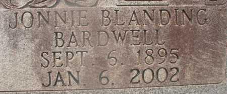 BARDWELL, JONNIE BLANDING (CLOSEUP) - Hempstead County, Arkansas | JONNIE BLANDING (CLOSEUP) BARDWELL - Arkansas Gravestone Photos