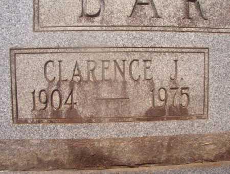 BARNES, CLARENCE J (CLOSEUP) - Hempstead County, Arkansas | CLARENCE J (CLOSEUP) BARNES - Arkansas Gravestone Photos