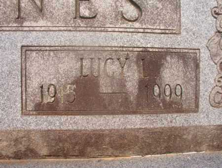 BARNES, LUCY L (CLOSEUP) - Hempstead County, Arkansas | LUCY L (CLOSEUP) BARNES - Arkansas Gravestone Photos