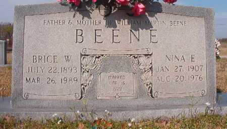 BEENE, NINA E - Hempstead County, Arkansas | NINA E BEENE - Arkansas Gravestone Photos