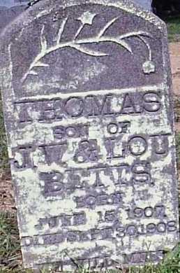 BETTS, THOMAS - Hempstead County, Arkansas | THOMAS BETTS - Arkansas Gravestone Photos