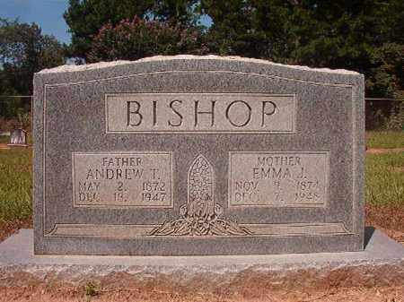 BISHOP, ANDREW T - Hempstead County, Arkansas | ANDREW T BISHOP - Arkansas Gravestone Photos