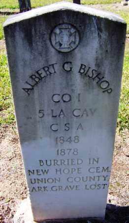 BISHOP (VETERAN CSA), ALBERT G - Hempstead County, Arkansas | ALBERT G BISHOP (VETERAN CSA) - Arkansas Gravestone Photos