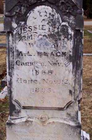 BLACK, JESSIE - Hempstead County, Arkansas | JESSIE BLACK - Arkansas Gravestone Photos