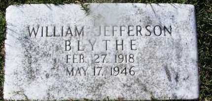 BLYTHE, WILIAM JEFFERSON - Hempstead County, Arkansas | WILIAM JEFFERSON BLYTHE - Arkansas Gravestone Photos