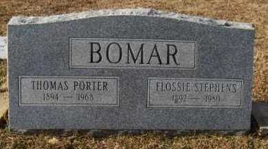 BOMAR, FLOSSIE - Hempstead County, Arkansas | FLOSSIE BOMAR - Arkansas Gravestone Photos