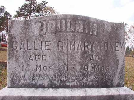 BOULDIN, CALLIE G - Hempstead County, Arkansas | CALLIE G BOULDIN - Arkansas Gravestone Photos