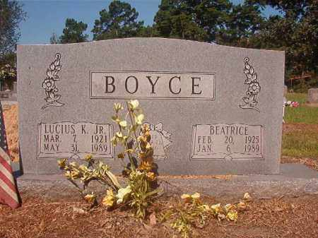 BOYCE, JR, LUCIUS K - Hempstead County, Arkansas | LUCIUS K BOYCE, JR - Arkansas Gravestone Photos