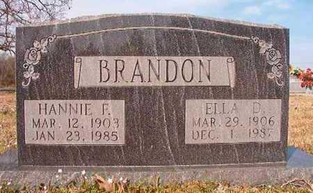 BRANDON, ELLA D - Hempstead County, Arkansas | ELLA D BRANDON - Arkansas Gravestone Photos