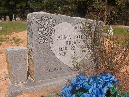 "BOYCE BROCK, ALMA ""PEEPSIE"" - Hempstead County, Arkansas 