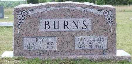 QUILLIN BURNS, OLA ESTELLE - Hempstead County, Arkansas | OLA ESTELLE QUILLIN BURNS - Arkansas Gravestone Photos