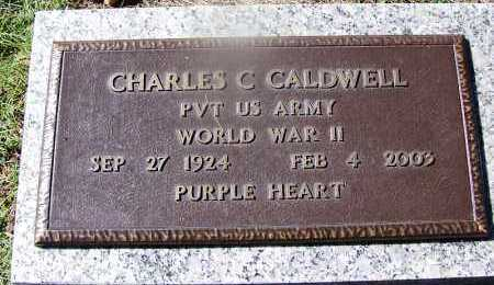 CALDWELL (VETERAN WWII), CHARLES C - Hempstead County, Arkansas | CHARLES C CALDWELL (VETERAN WWII) - Arkansas Gravestone Photos