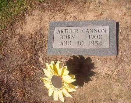 CANNON, ARTHUR - Hempstead County, Arkansas | ARTHUR CANNON - Arkansas Gravestone Photos