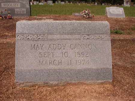 ADDY CANNON, MAY - Hempstead County, Arkansas | MAY ADDY CANNON - Arkansas Gravestone Photos