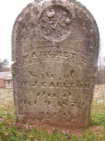 CARLTON, MARGRET L - Hempstead County, Arkansas | MARGRET L CARLTON - Arkansas Gravestone Photos