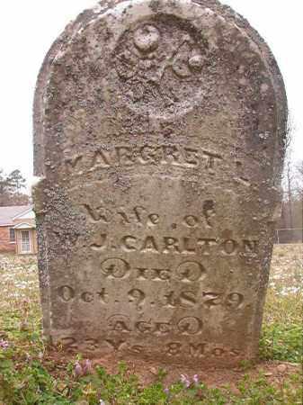 CARLTON, MARGRET L - Hempstead County, Arkansas | MARGRET L CARLTON - Arkansas Gravestone Photos