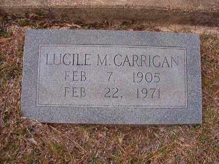 CARRIGAN, LUCILE M - Hempstead County, Arkansas | LUCILE M CARRIGAN - Arkansas Gravestone Photos