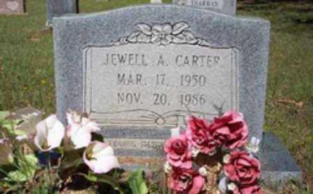 CARTER, JEWELL A - Hempstead County, Arkansas | JEWELL A CARTER - Arkansas Gravestone Photos