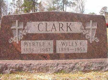 CLARK, MYRTLE A - Hempstead County, Arkansas | MYRTLE A CLARK - Arkansas Gravestone Photos