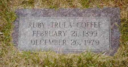 COFFEE, RUBY TRULA - Hempstead County, Arkansas | RUBY TRULA COFFEE - Arkansas Gravestone Photos