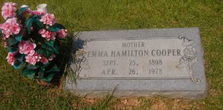 HAMILTON COOPER, EMMA - Hempstead County, Arkansas | EMMA HAMILTON COOPER - Arkansas Gravestone Photos