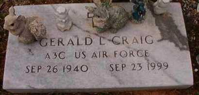 CRAIG (VETERAN), GERALD L - Hempstead County, Arkansas | GERALD L CRAIG (VETERAN) - Arkansas Gravestone Photos