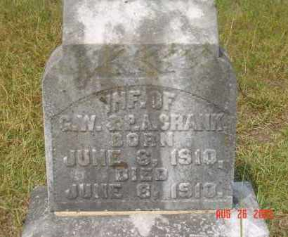 CRANK, INFANT - Hempstead County, Arkansas | INFANT CRANK - Arkansas Gravestone Photos